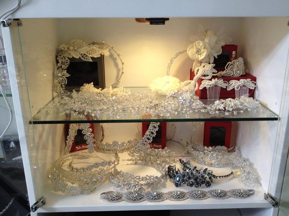 新娘飾品│爆炸的飾品櫃