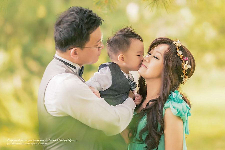 花蓮自助婚紗│溫暖的全家福婚紗照~攝影麻口