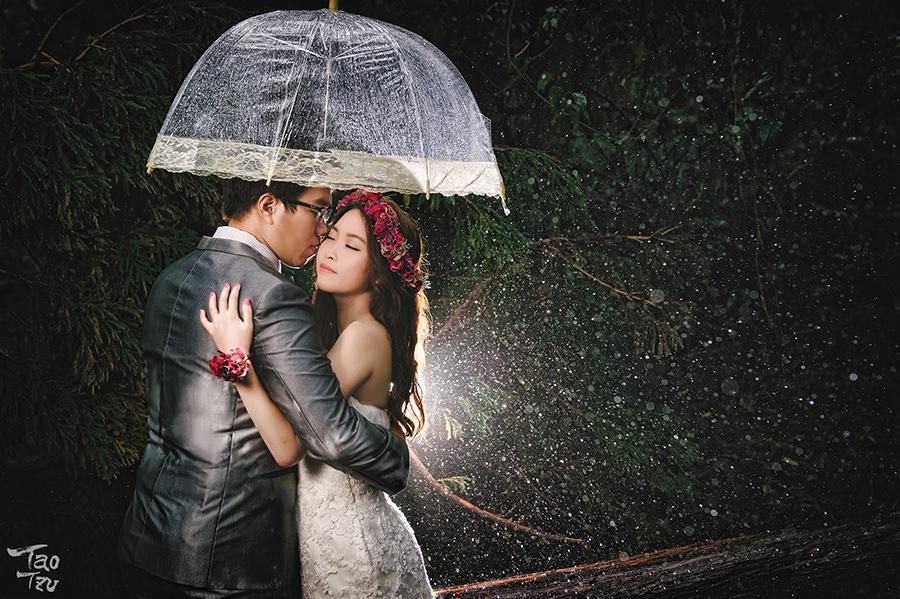 台北自助婚紗│浪漫又充滿魅力的花環造型~攝影破渡-松穎&宜瑋