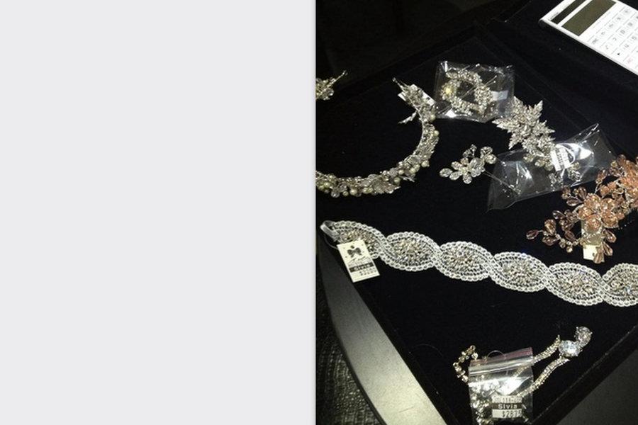 新娘飾品│水晶飾品、鑽飾髮帶、華麗頭飾