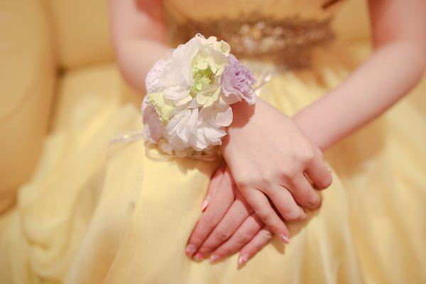 清新浪漫風格新娘手腕花│詩詩婚宴