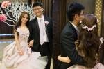 西敏手工婚紗│長榮桂冠酒店婚宴│鮮花新秘│新娘造型│鮮花造型│長捲髮造型│花環造型