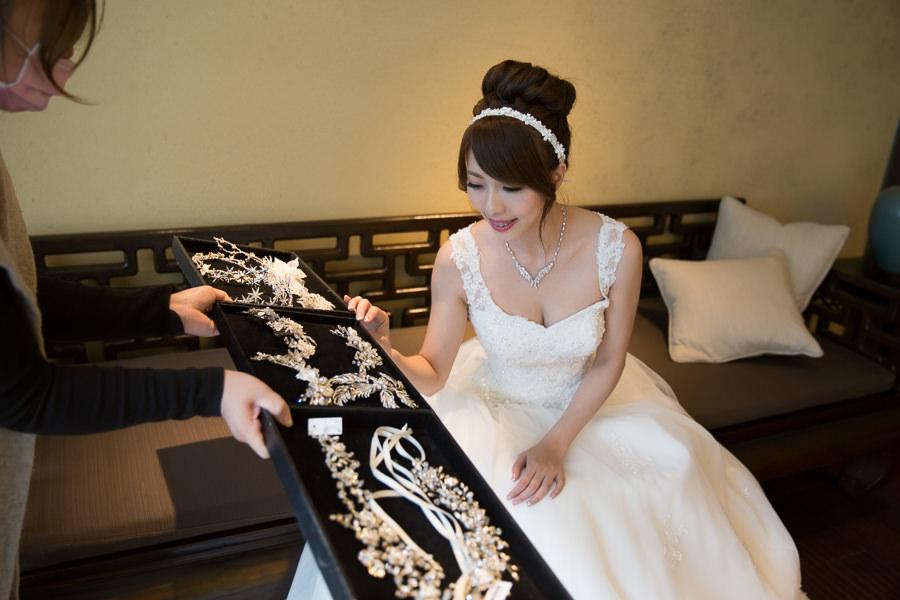 新娘飾品│一種Yuki的新娘都是小公主的概念