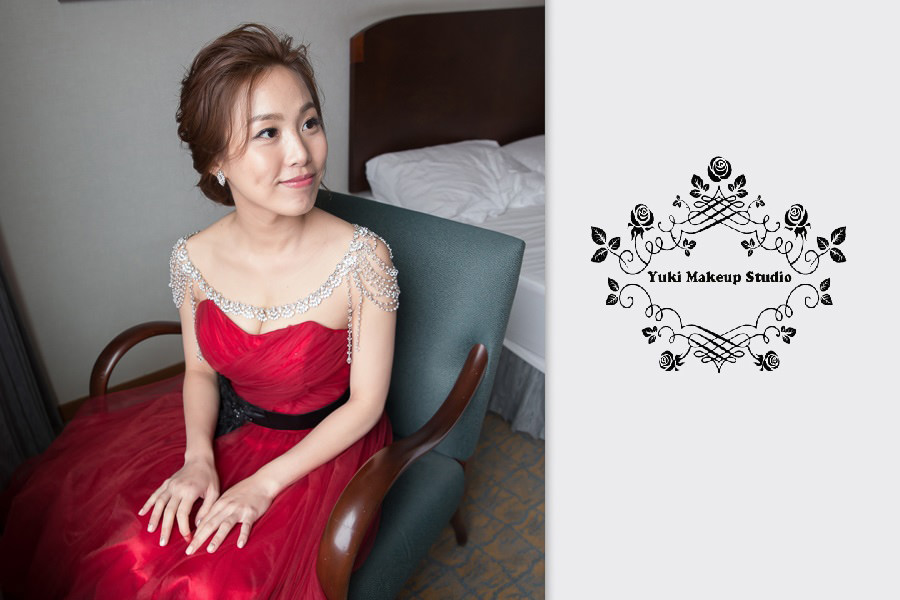 桃園新秘│多種風格新娘造型~坤麒&君怡婚宴-桃園翰品酒店