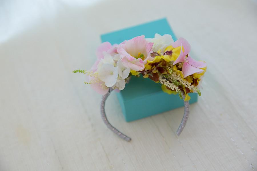 新娘雜誌作品│新娘物語-俏麗春天感的繽紛色新娘手腕花