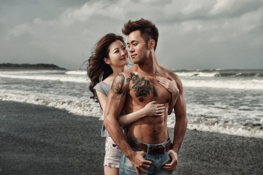 寒冬拍攝卻充滿熱情的台北自助婚紗│攝影Donfer-德翰&昱潔