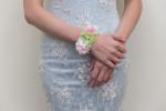 鮮花新秘│鮮花飾品│新娘手腕花│粉嫩色系