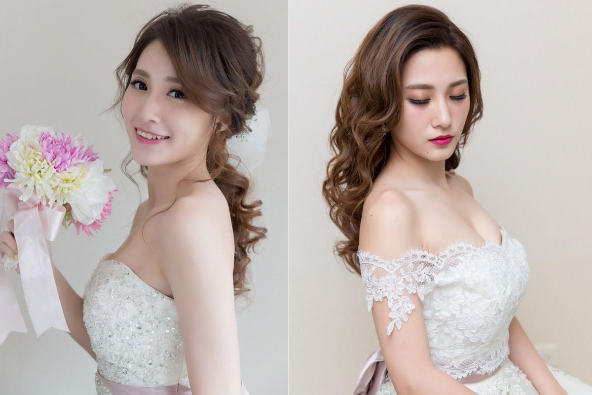 新娘飾品│V領不規則蕾絲罩衫,穿白紗修飾肉肉手臂的最佳法寶