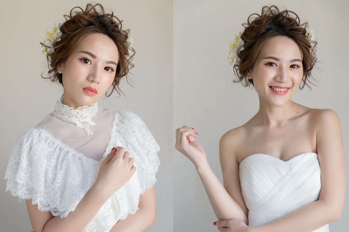 新娘飾品│高領披肩式蕾絲罩衫,既修飾手臂又能散發典雅氣息