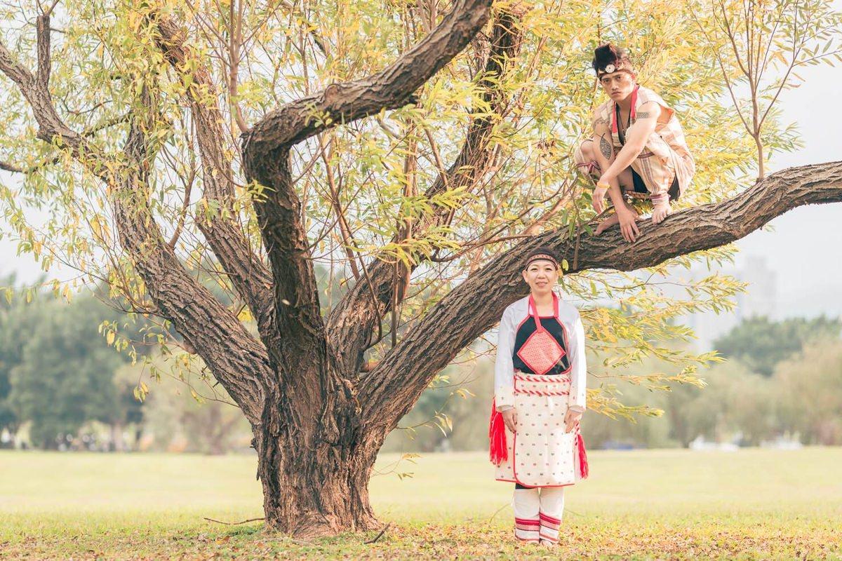 台北自助婚紗│一覽原住民特色婚紗~攝影張麻口-曉嵐&家齡