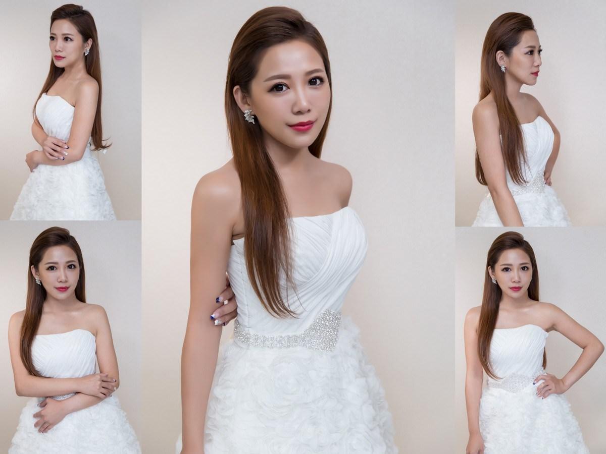 新秘Yuki│新秘推薦│北部新秘│白紗造型│油頭│新娘髮型│slicked hair│2017 Wedding Hairstyles