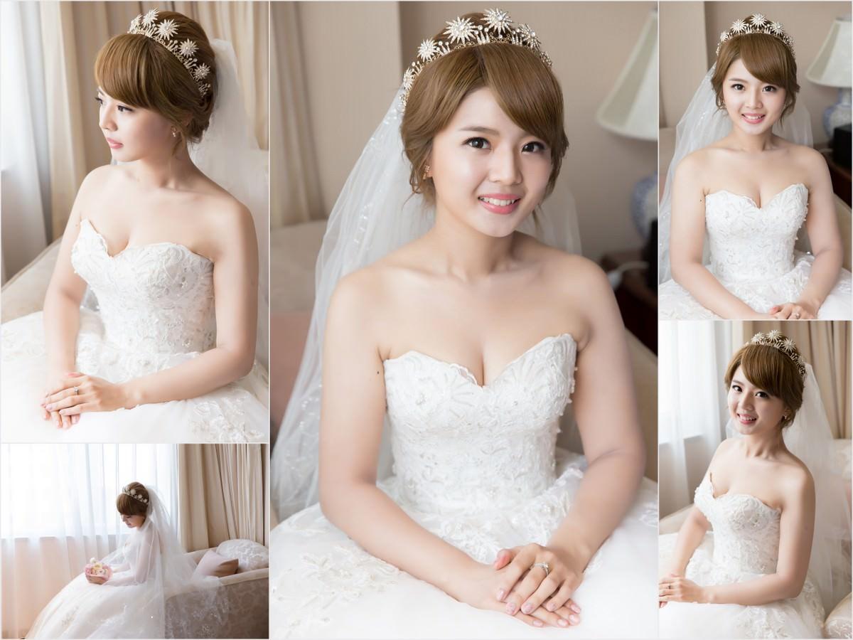 新秘Yuki│新秘推薦│北部新秘│白紗造型│盤髮│新娘頭紗│新娘髮型│bun hairstyle│2017 Wedding Hairstyles