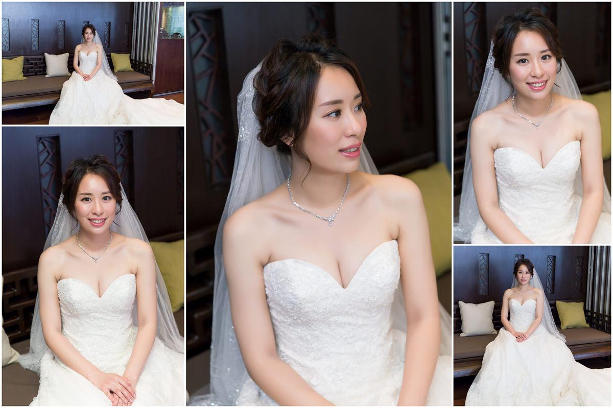 新秘Yuki│新秘推薦│北部新秘│白紗造型│盤髮│新娘編髮│新娘頭紗│新娘髮型│bun hairstyle│2017 Wedding Hairstyles