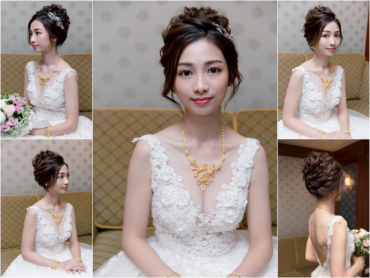 新秘Yuki│新秘推薦│北部新秘│白紗造型│盤髮│新娘髮型│bun hairstyle with veil│2017 Wedding Hairstyles