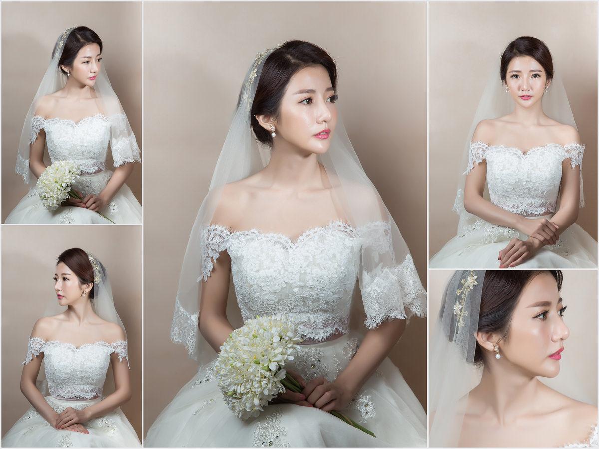 白紗造型|高雄新娘秘書|高雄新秘YUKI|韓系新娘造型|新娘髮型|素雅造型|白紗髮型|蕾絲罩衫|新娘髮型|婚宴造型|頭紗造型