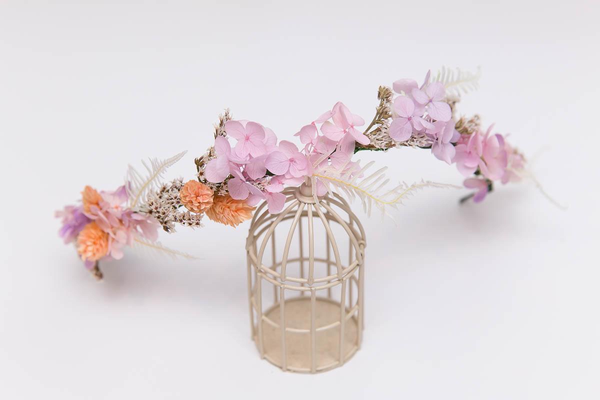 新秘Yuki, 新娘花環, 不凋花飾品, 不凋花花環