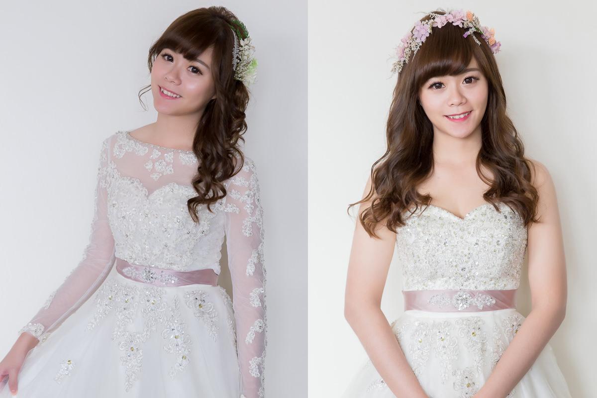 新娘造型,白紗造型,新娘飾品,蕾絲罩衫, 長袖罩衫