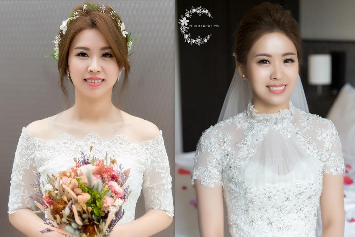 台北新秘|一套白紗,兩款造型,罩衫讓你的風格更百變