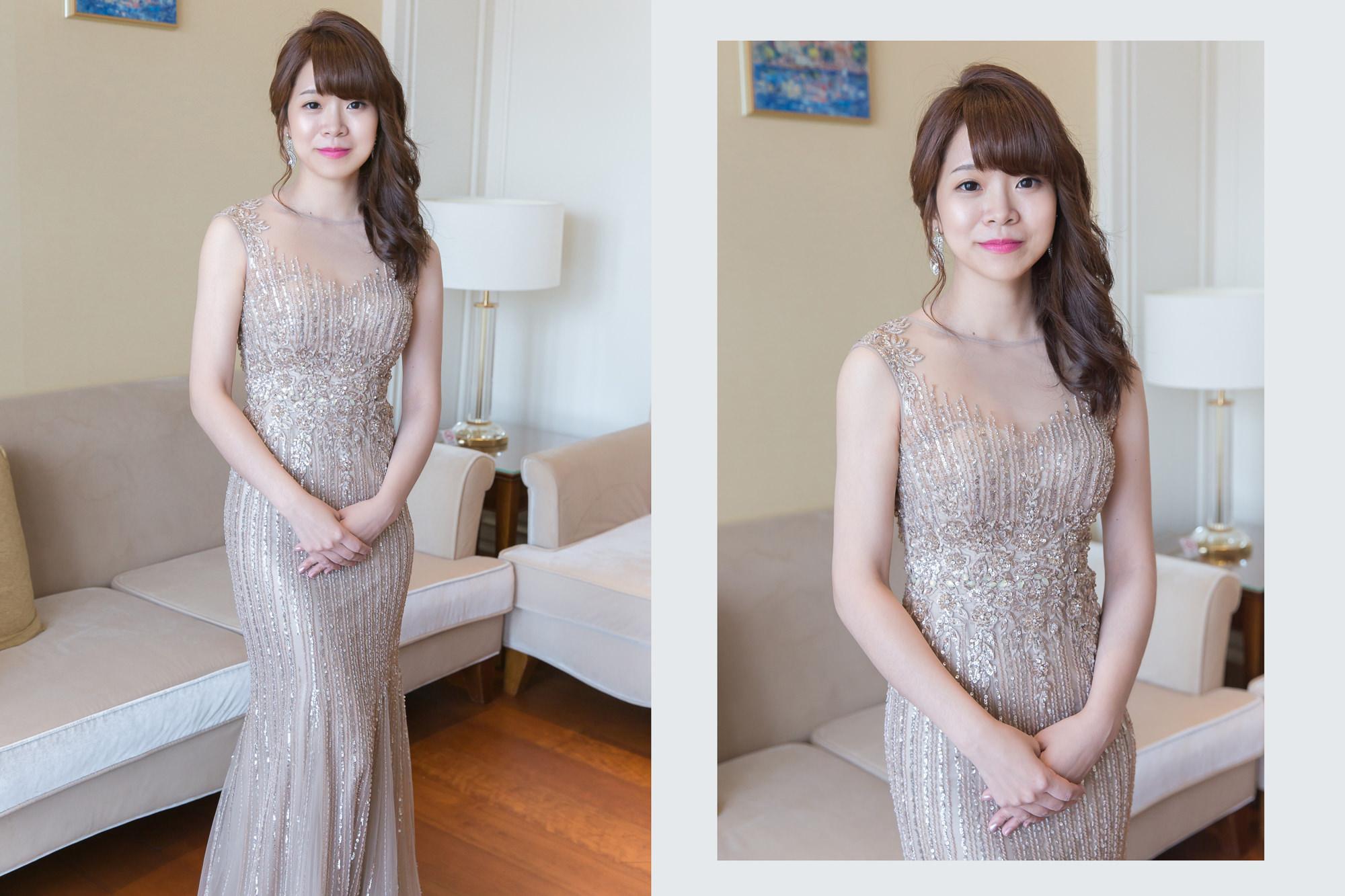 新娘秘書,新秘,新娘造型,台北新秘,側邊髮造型,新娘髮型,C型瀏海,新娘妝容,wedding hairstyle