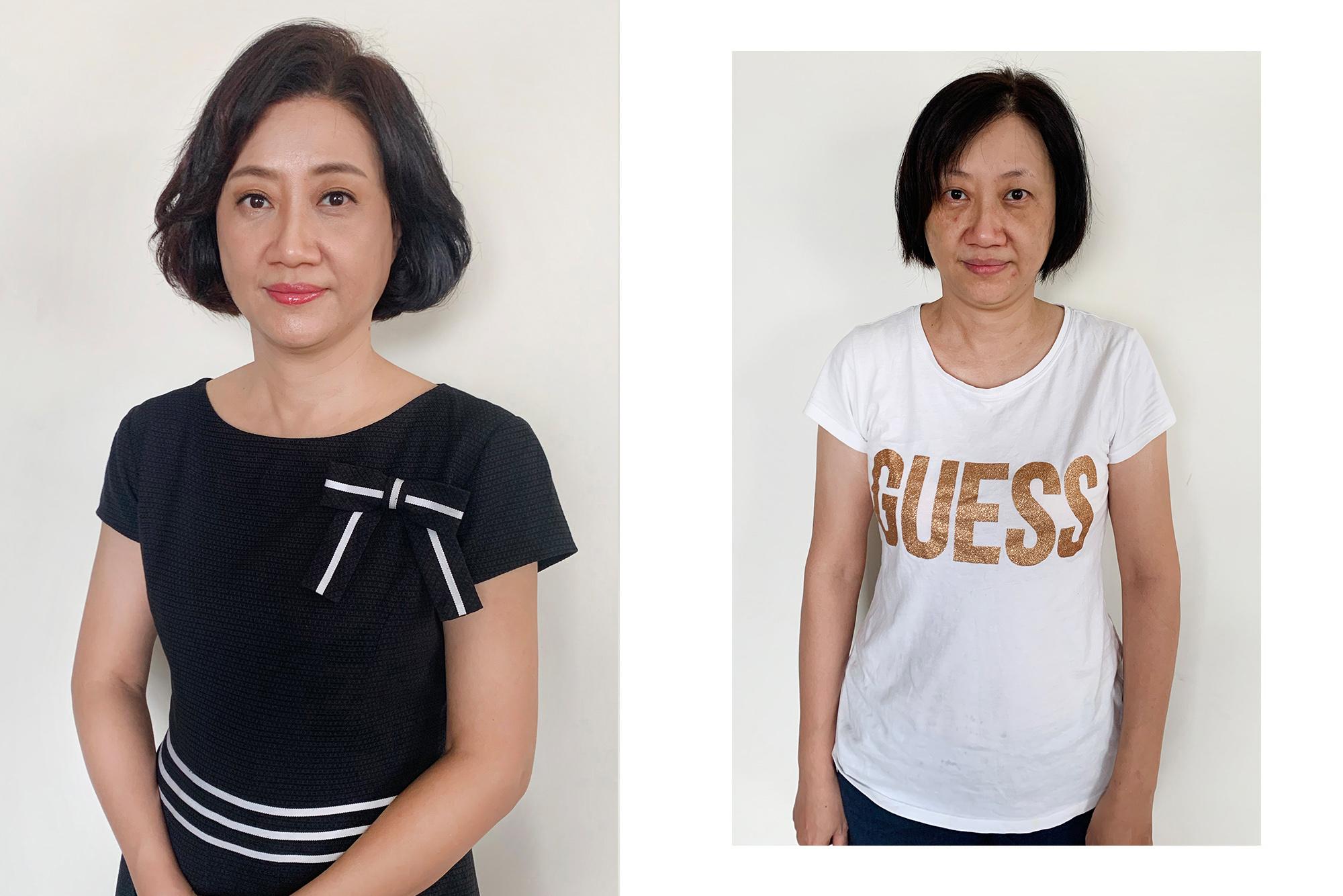 新秘素人改造|短髮媽媽的媽媽妝髮該怎麼做?不用接髮也能讓媽媽看起來年輕有造型唷