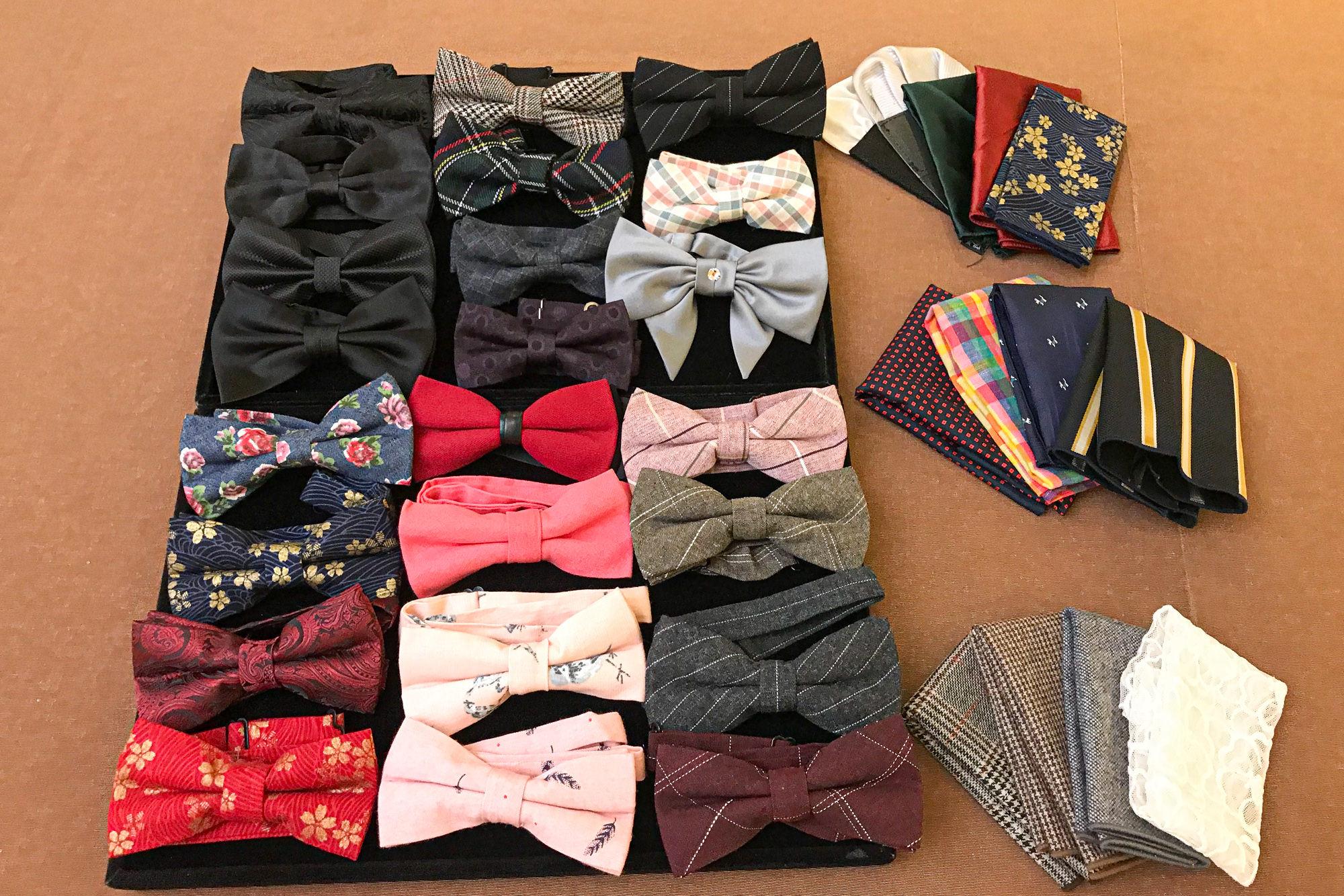 領結 新郎領結 口袋巾 新秘 新郎配件