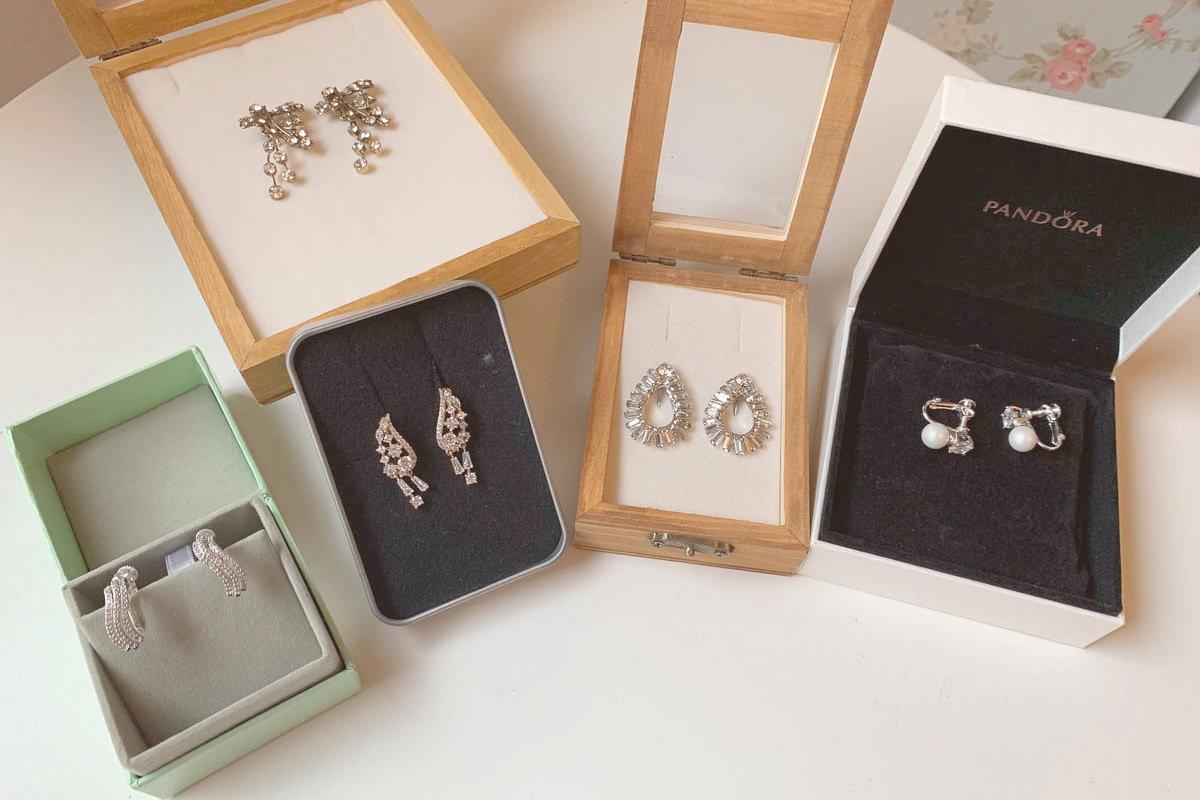 新娘飾品|新娘耳環