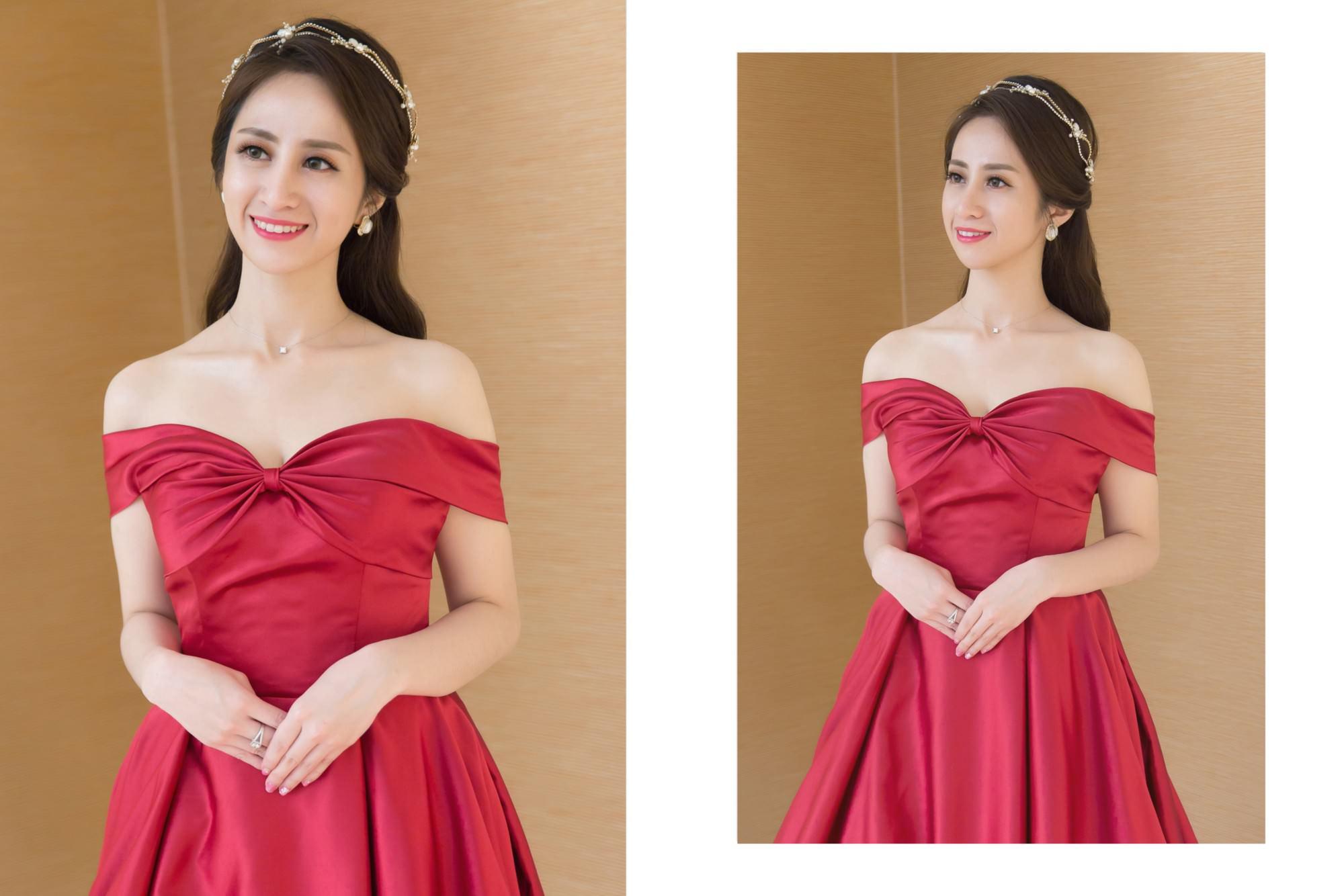 新娘秘書,新秘,新娘造型, 高雄新秘, 公主頭造型,紅色禮服,白紗造型, 皇冠造型,新娘髮型,新娘妝容, 林皇宮