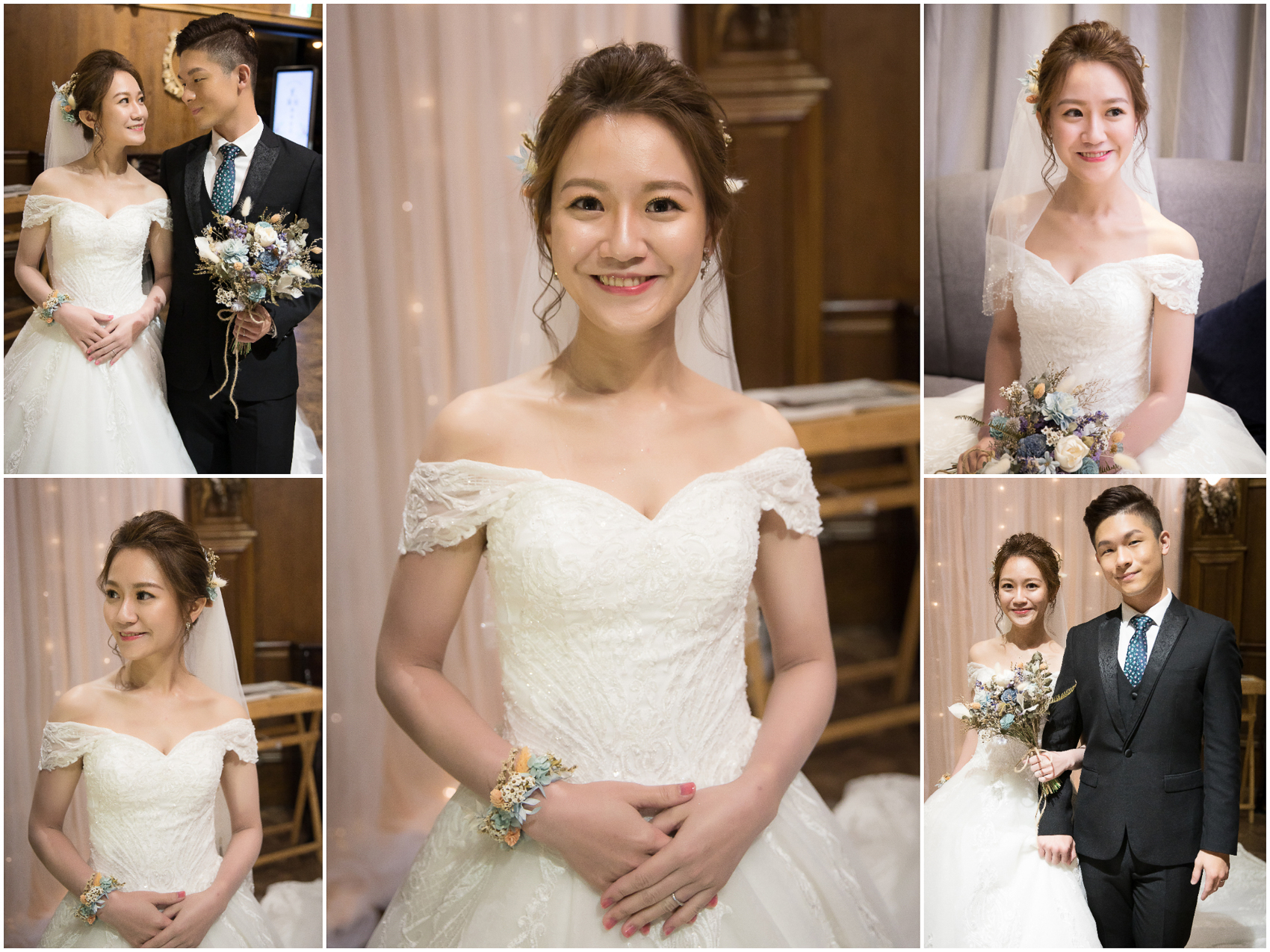 新秘Yuki, 新娘秘書, 新秘, 新娘造型, 白紗造型,不凋花造型, 新娘妝容, 高雄新秘,老新台菜十全店,Hermosa Wedding