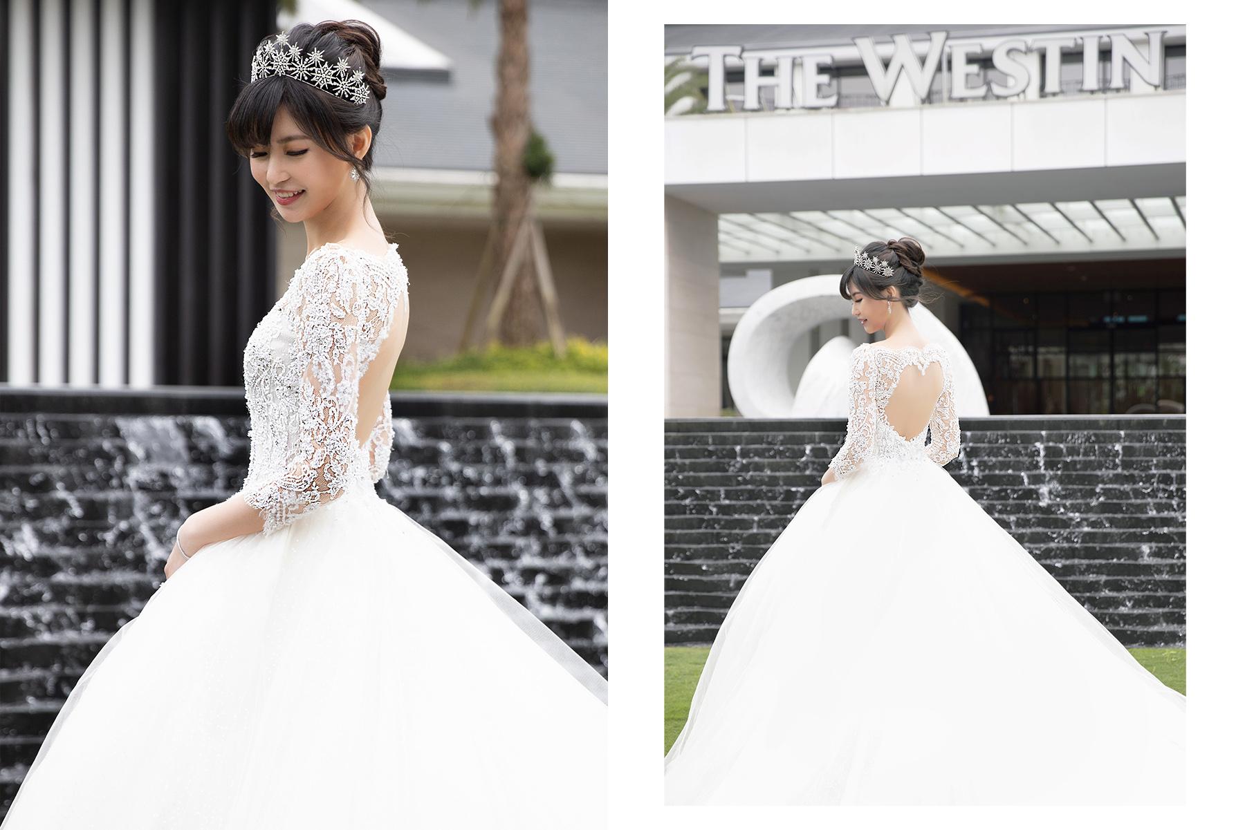 新秘Yuki,Tiger wedding|新娘秘書,新秘,新娘造型,白紗造型,新秘推薦,新娘妝容,高雄新秘, 大溪威斯汀婚宴, 林莉婚紗, 皇冠造型