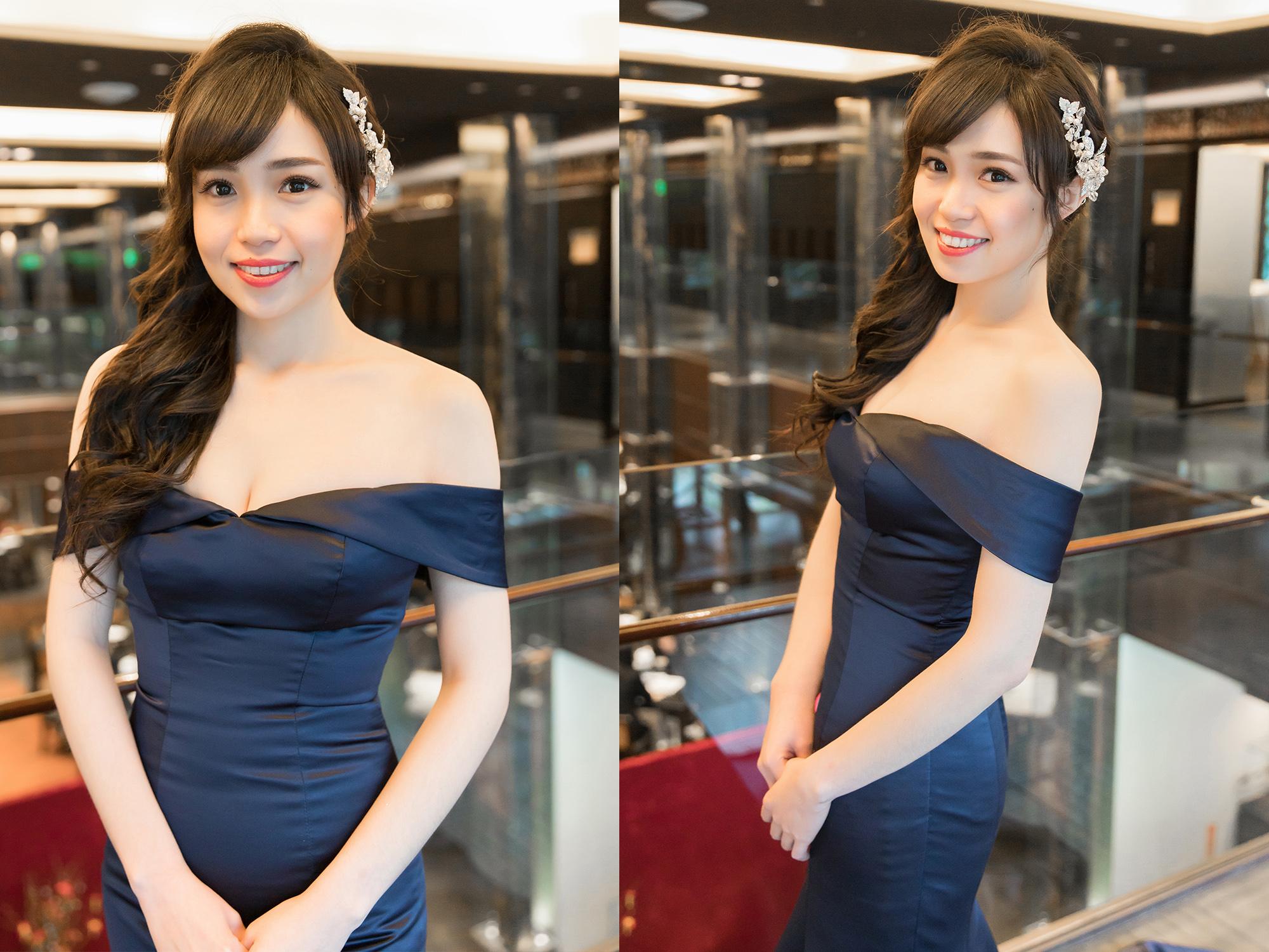 新秘Yuki,新娘秘書,新秘,新娘造型,新秘推薦,新娘妝容,高雄新秘, 盤髮造型, C型瀏海,故宮晶華