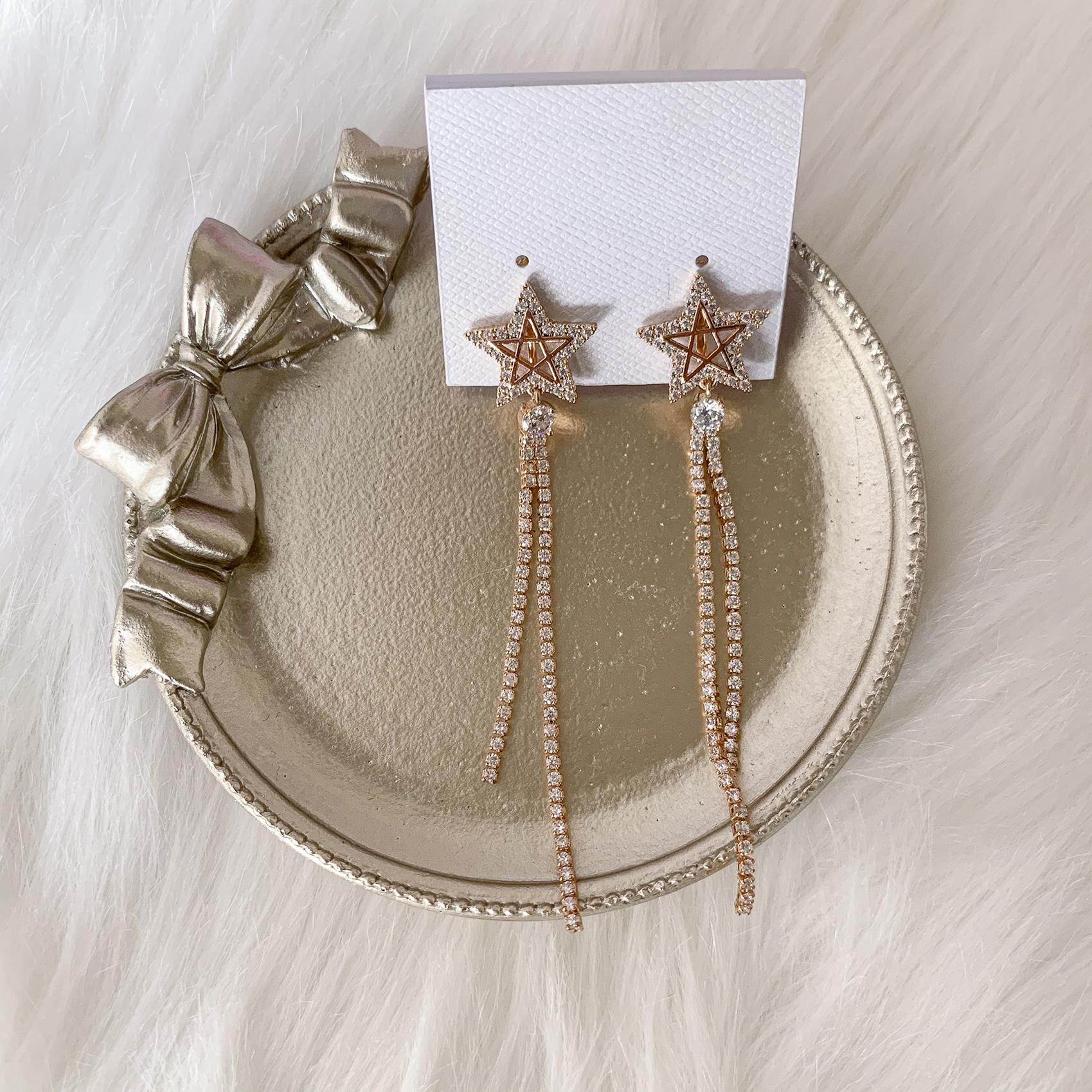 新娘飾品, 新娘耳環, 垂墜式耳環