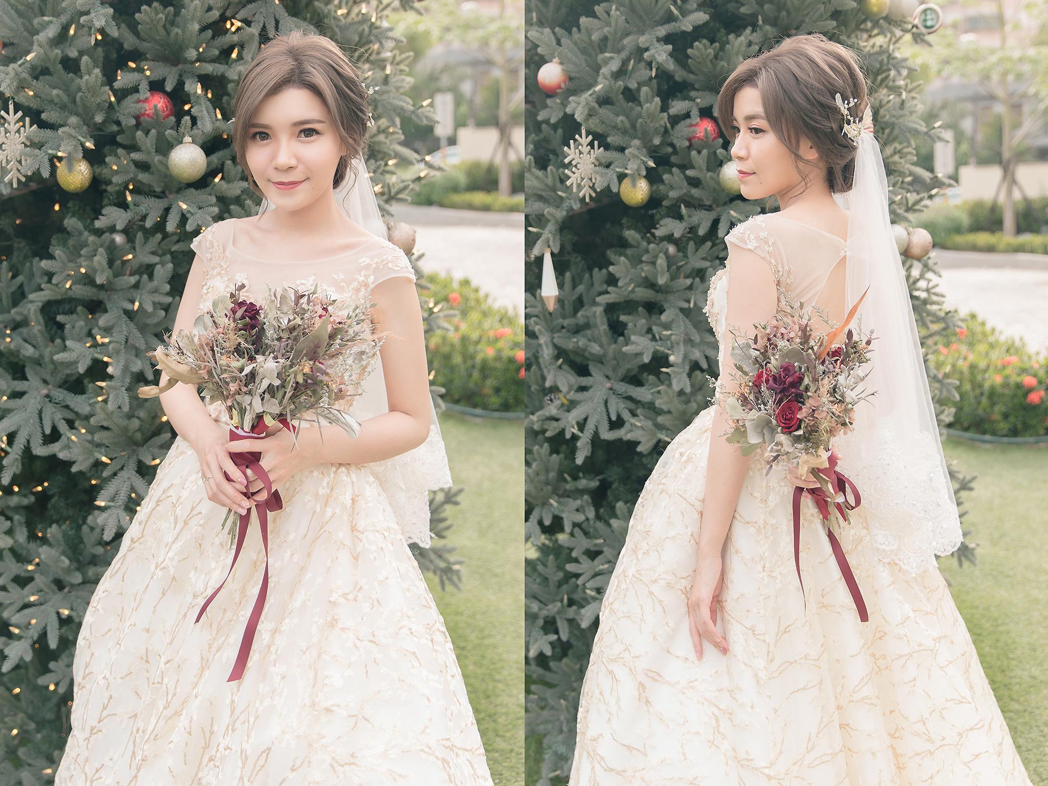 新秘Yuki, 新娘秘書, 新秘, 新娘造型, 白紗造型, 新秘推薦, 桃園新秘, 溫柔感造型