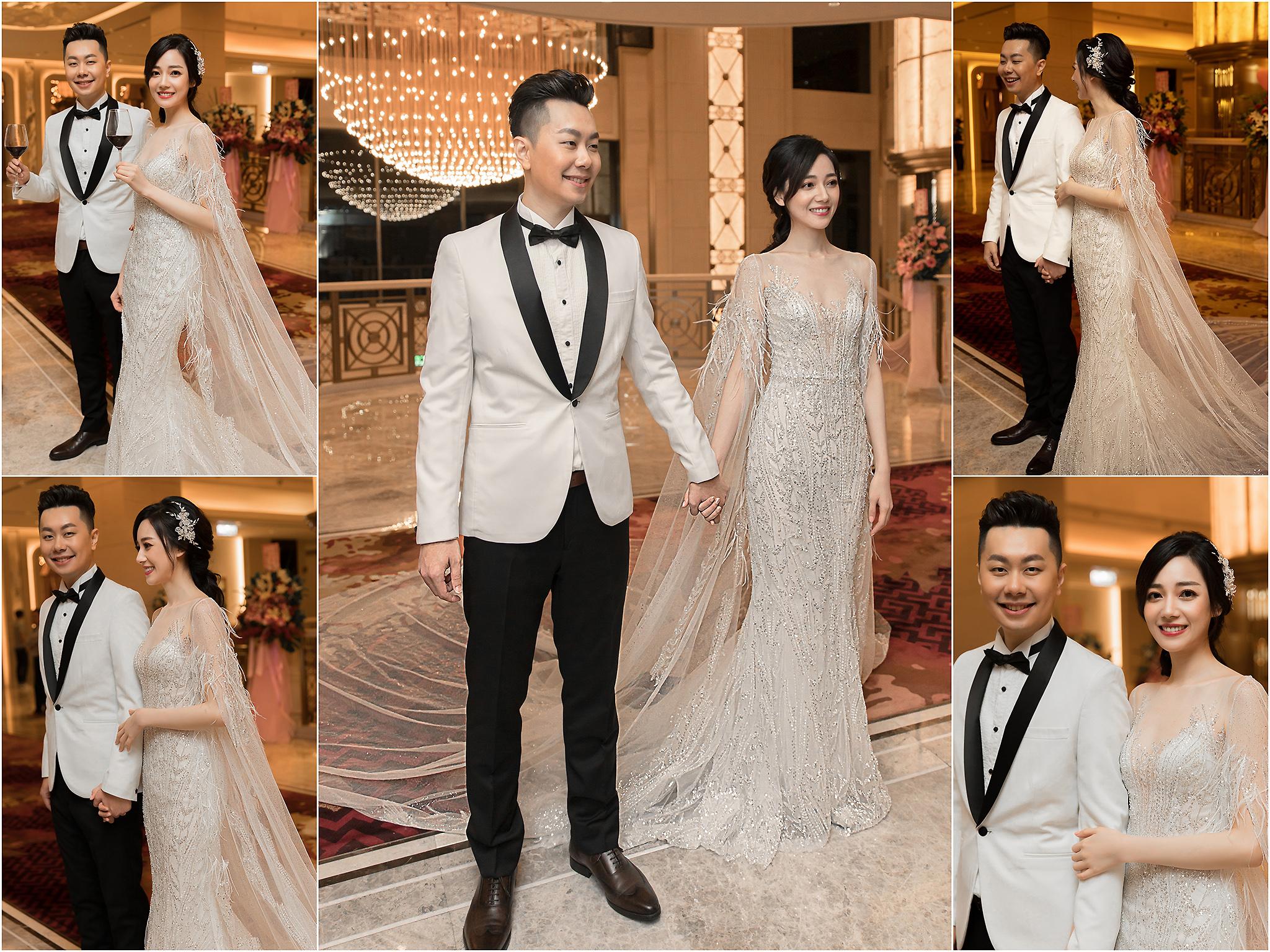 新秘Yuki, 新娘秘書, 新秘, 新娘造型, 新秘推薦, 低馬尾造型, 優雅風造型, 台北新秘, 美福飯店婚宴, 蘇菲雅婚紗