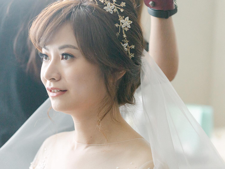 新秘Yuki, 新娘秘書, 新秘, 新娘造型, 白紗造型, 新秘推薦,Honeysuckle Atelier ,新娘妝容, 台北新秘, 華麗風造型