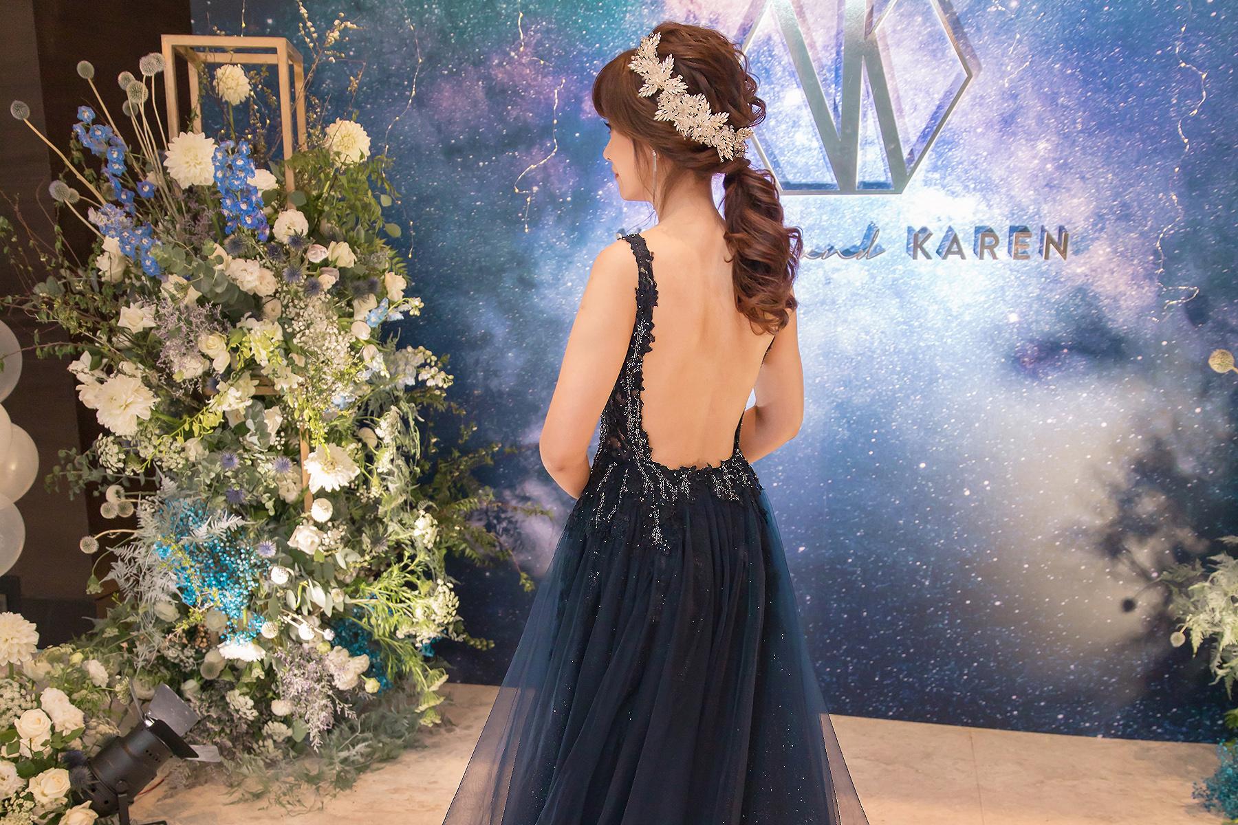 台北新秘|風格華麗且多變的氣質新娘|台北寒舍艾麗婚宴