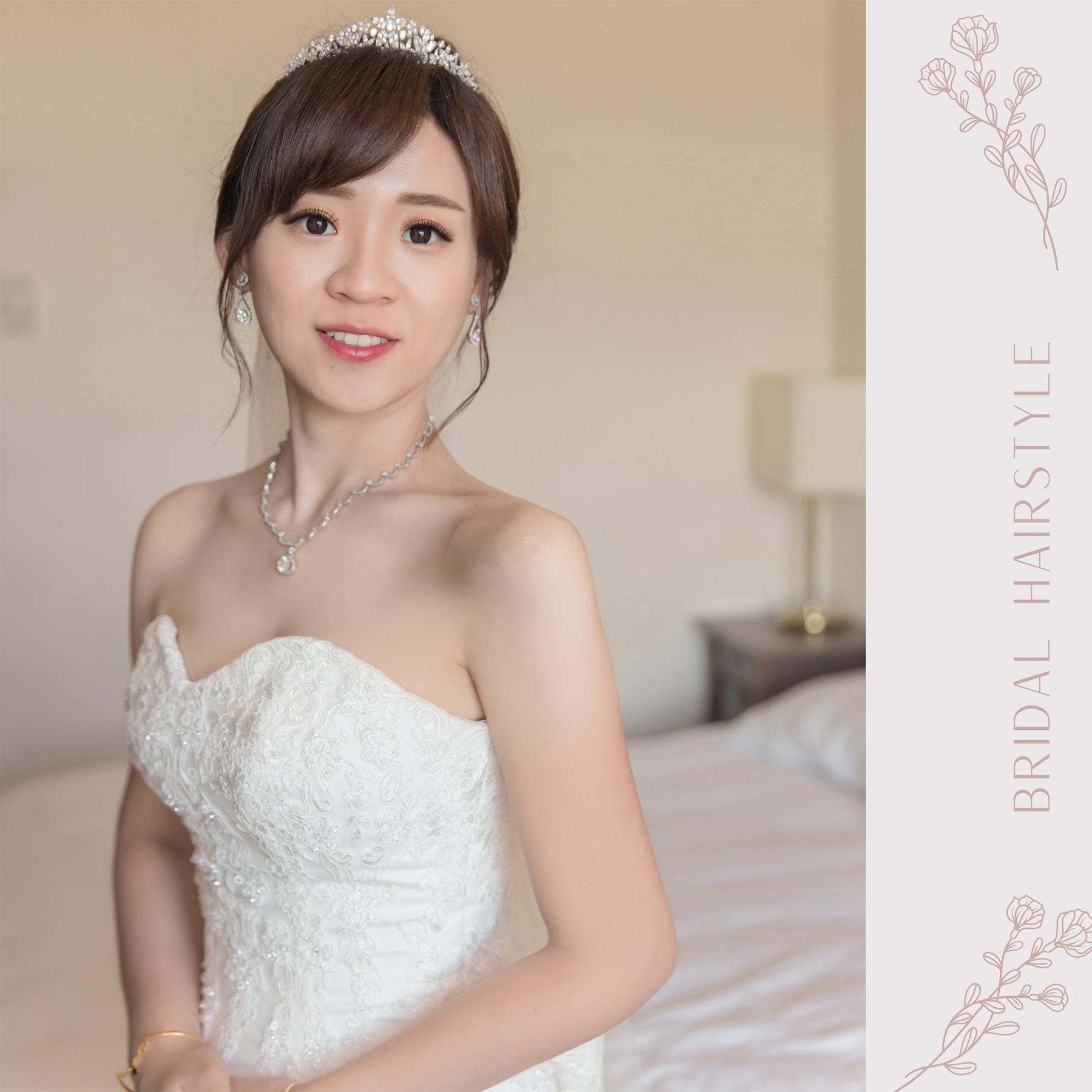 新秘Yuki, 新娘秘書, 新秘, 新娘造型, 白紗造型, 新秘推薦 ,新娘妝容, 高雄新秘, 盤髮造型,白紗,高雄福華婚宴,高雄福華飯店