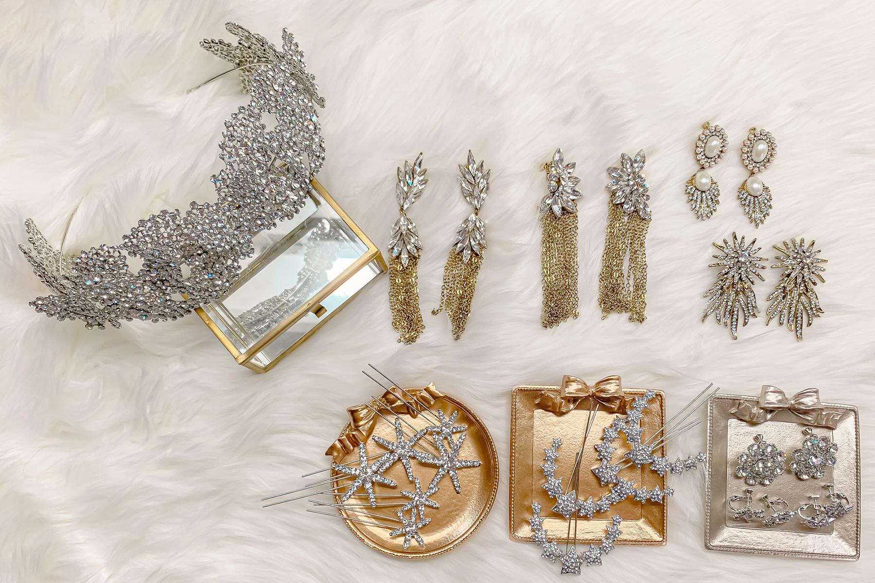 新娘飾品,皇冠,華麗風,新娘頭飾,公主風,新娘皇冠,新秘Yuki