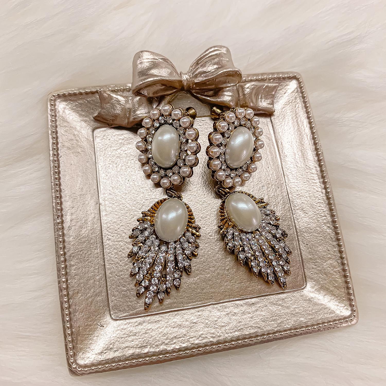 新娘飾品,皇冠,華麗風,公主風,新娘耳環,新秘Yuki