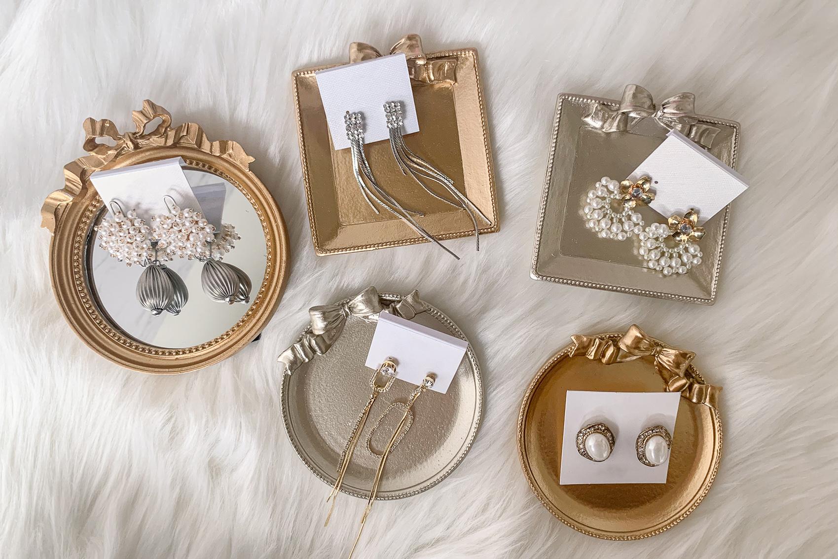 新娘飾品,新娘耳環,新秘Yuki