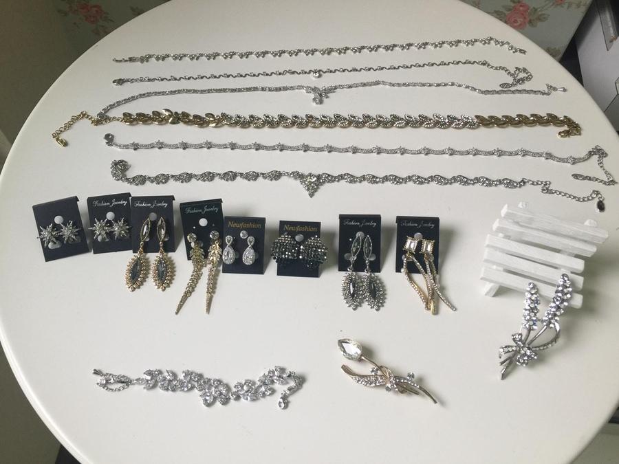 新娘飾品│華麗推薦!耳環、胸針與項鍊手鍊