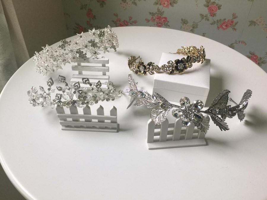 新娘頭飾│甜美又俏麗的星星造型皇冠