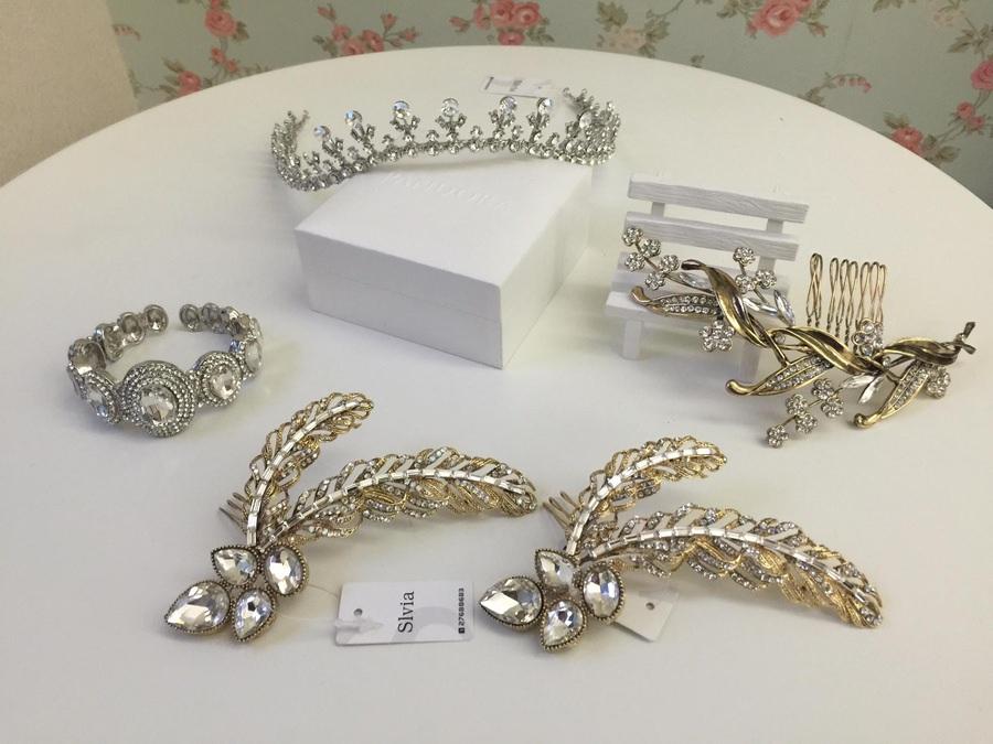 新娘飾品│公主風必看的皇冠與華麗手環