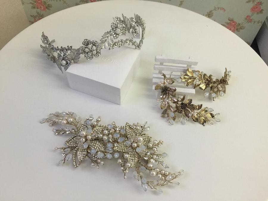 新娘頭飾│典雅浪漫的森林系髮飾