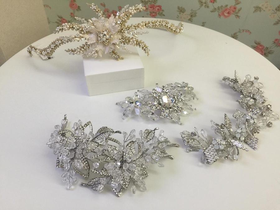 新娘頭飾│華麗風格的各式髮飾