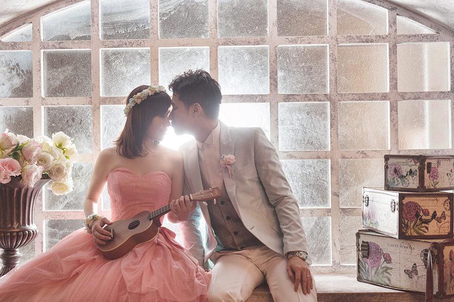 自助婚紗│享受雨景的浪漫與氛圍~攝影破渡-星辰