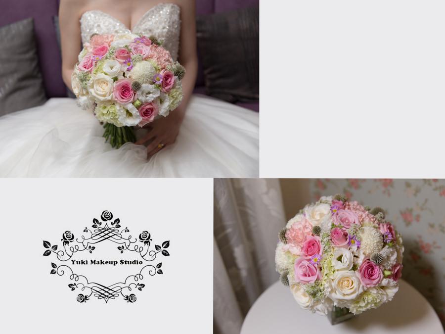 婚攝居米│綿谷結婚式婚紗│鮮花新秘│新娘捧花│粉嫩色系│甜美