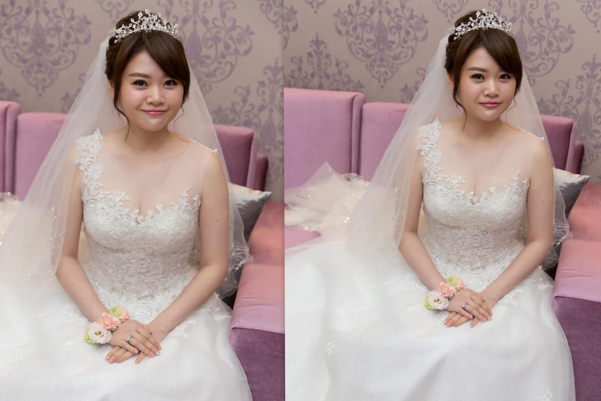 白紗造型│皇冠造型│長頭紗│盤髮│手腕花│台北新秘│新秘Yuki|新娘造型|新娘髮型|白紗造型|高雄新秘