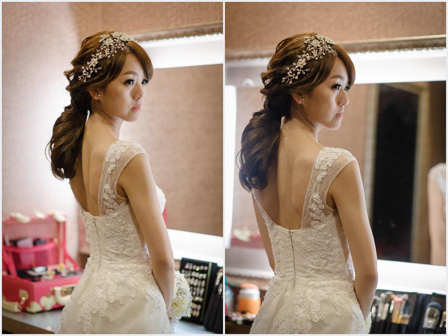 新秘推薦│白紗│低馬尾│韓系||新娘造型|新娘髮型|白紗造型|高雄新秘|新秘YUKI|婚宴造型