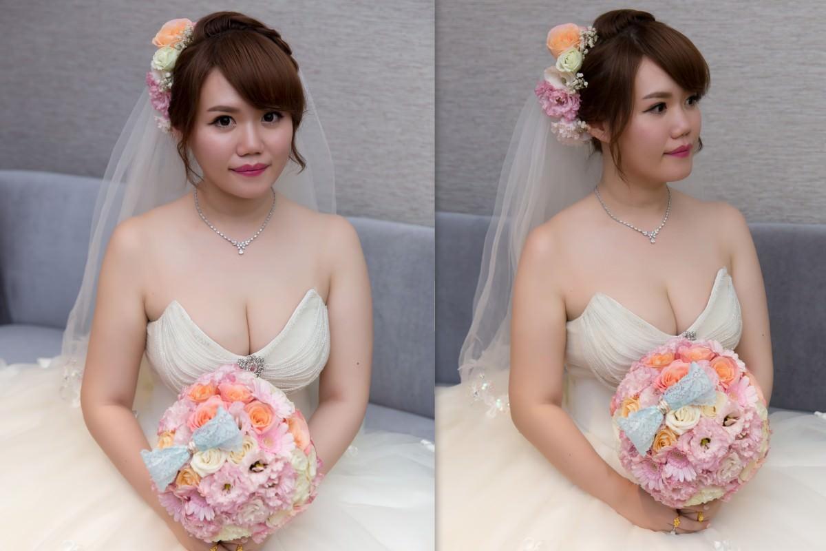 新秘Yuki│新秘推薦│白紗│盤髮造型|編髮造型│鮮花造型│新娘頭紗造型|新娘造型|新娘髮型|白紗造型|高雄新秘|婚宴造型