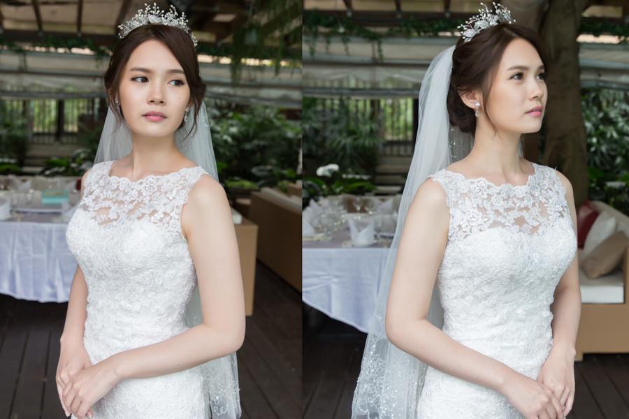 新秘Yuki│新秘推薦│白紗│盤髮│長頭紗│皇冠造型|新娘造型|新娘髮型|白紗造型|高雄新秘|新秘YUKI
